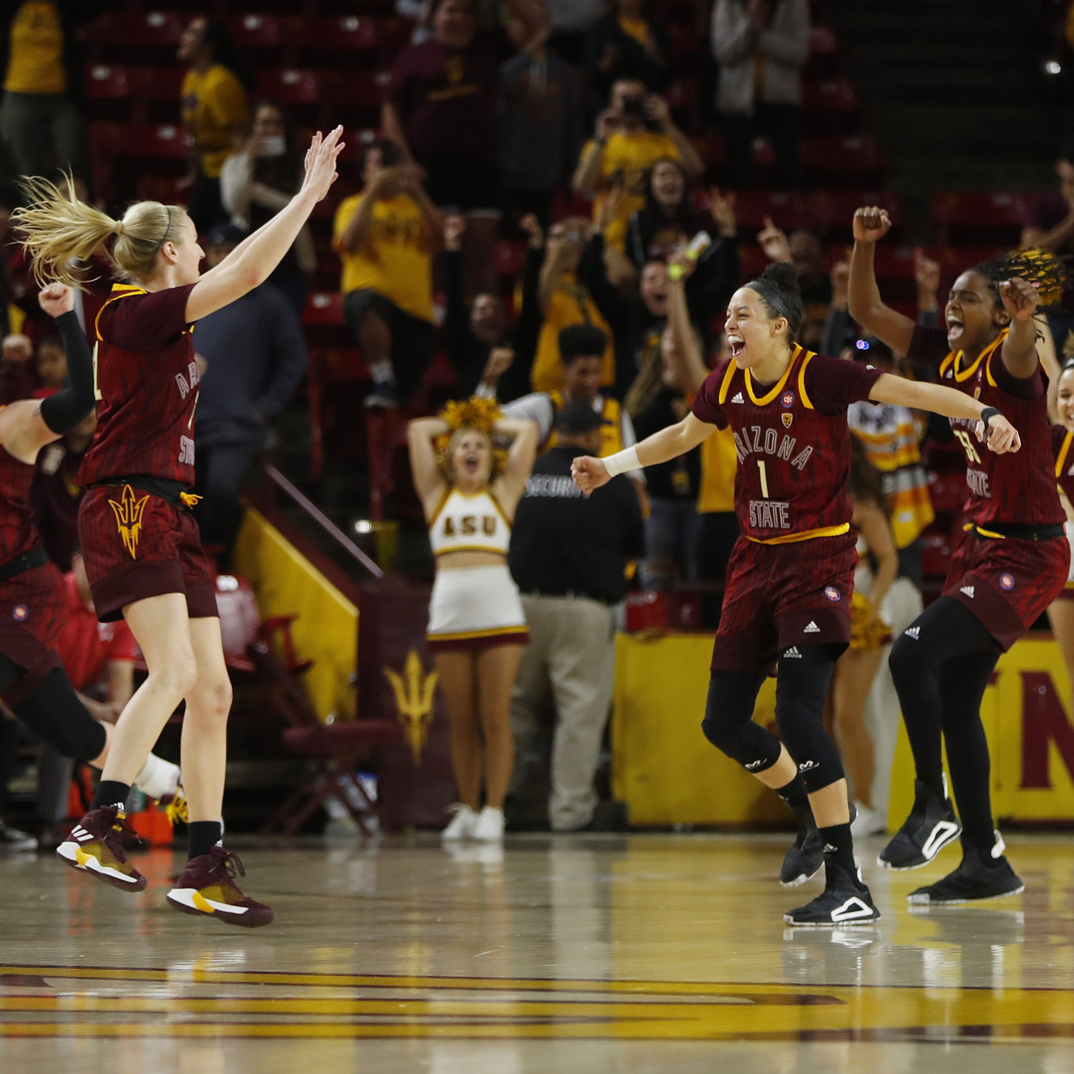 No. 19 ASU scores final 20 points to stun Utah for second time this season