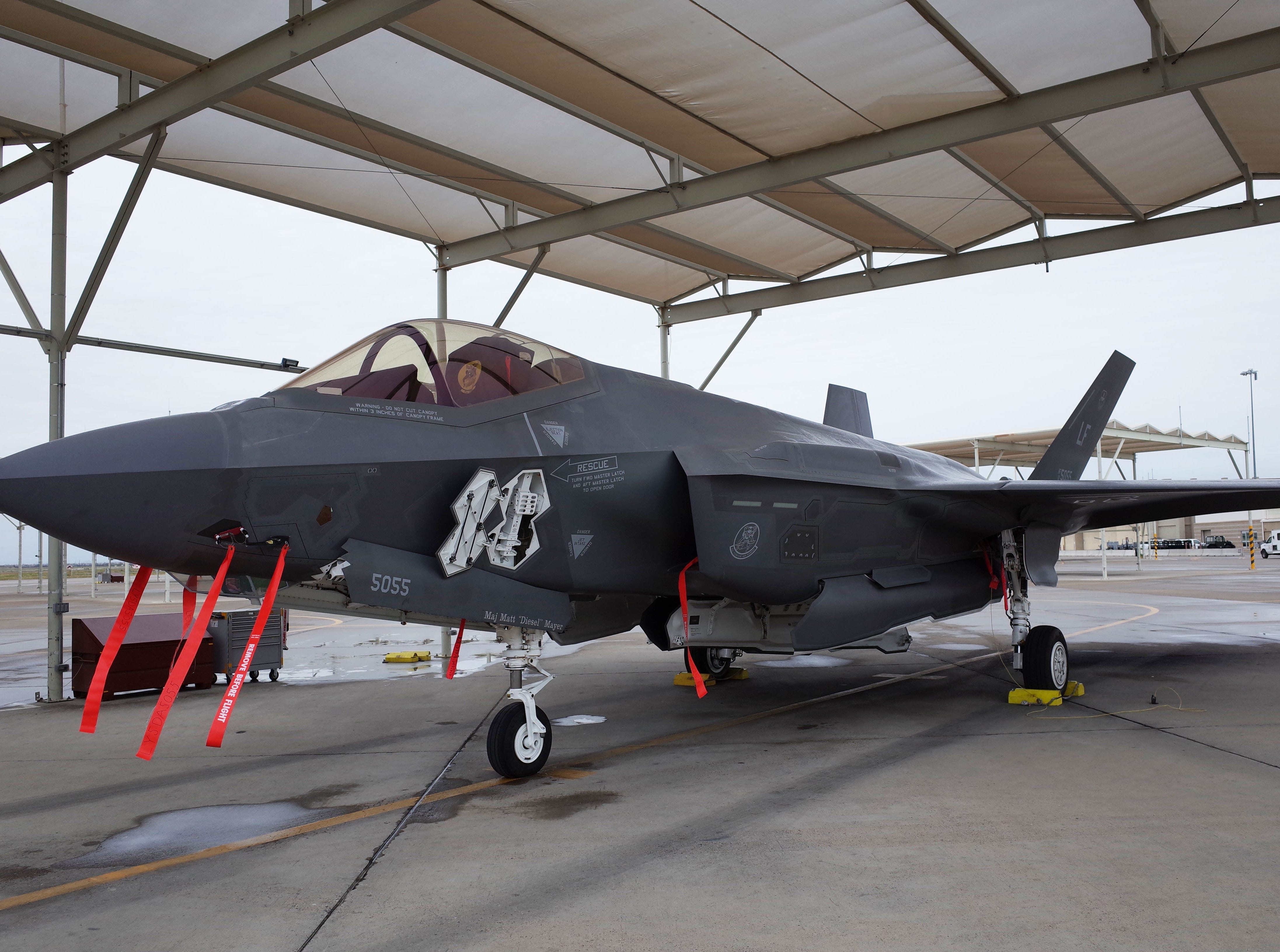 F-35s are sold to many U.S. allies, including Australia, Italy, Norway and Turkey, which train pilots at Luke Air Force Base.