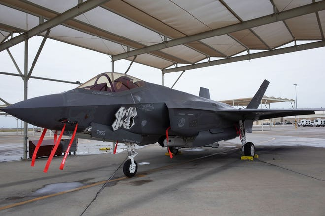 The Air Force is moving its demonstration team for the F-35A fighter jet from Luke Air Force Base in Glendale to Hill Air Force Base in northern Utah.