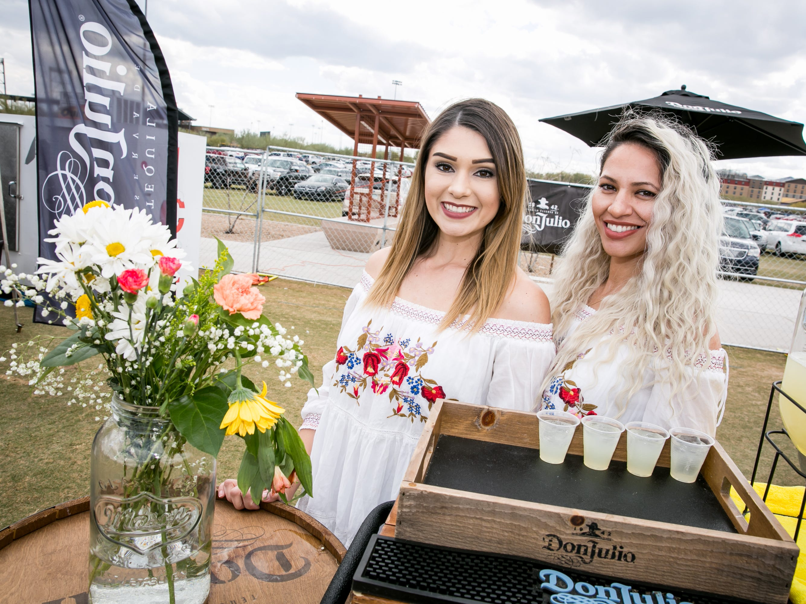Don Julio's free samples were amazing during the Street Eats Food Truck Festival at Salt River Fields near Scottsdale on Feb. 17, 2019.