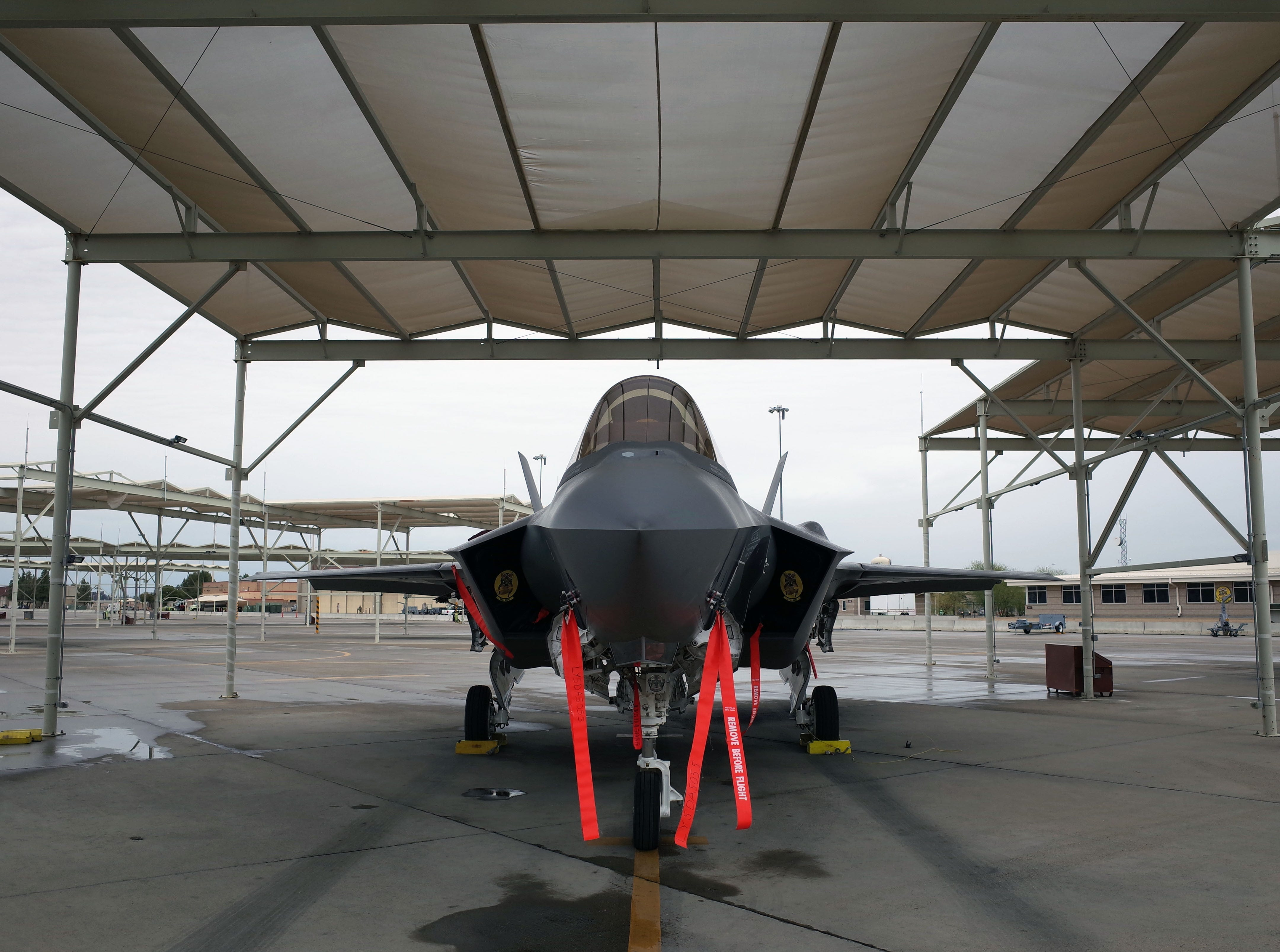 The F-35 is a 5th generation multi-role stealth fighter. The craft is specialized in electronic warfare and air to ground combat, but can also perform in air to air combat, according to manufacturer Lockheed Martin.