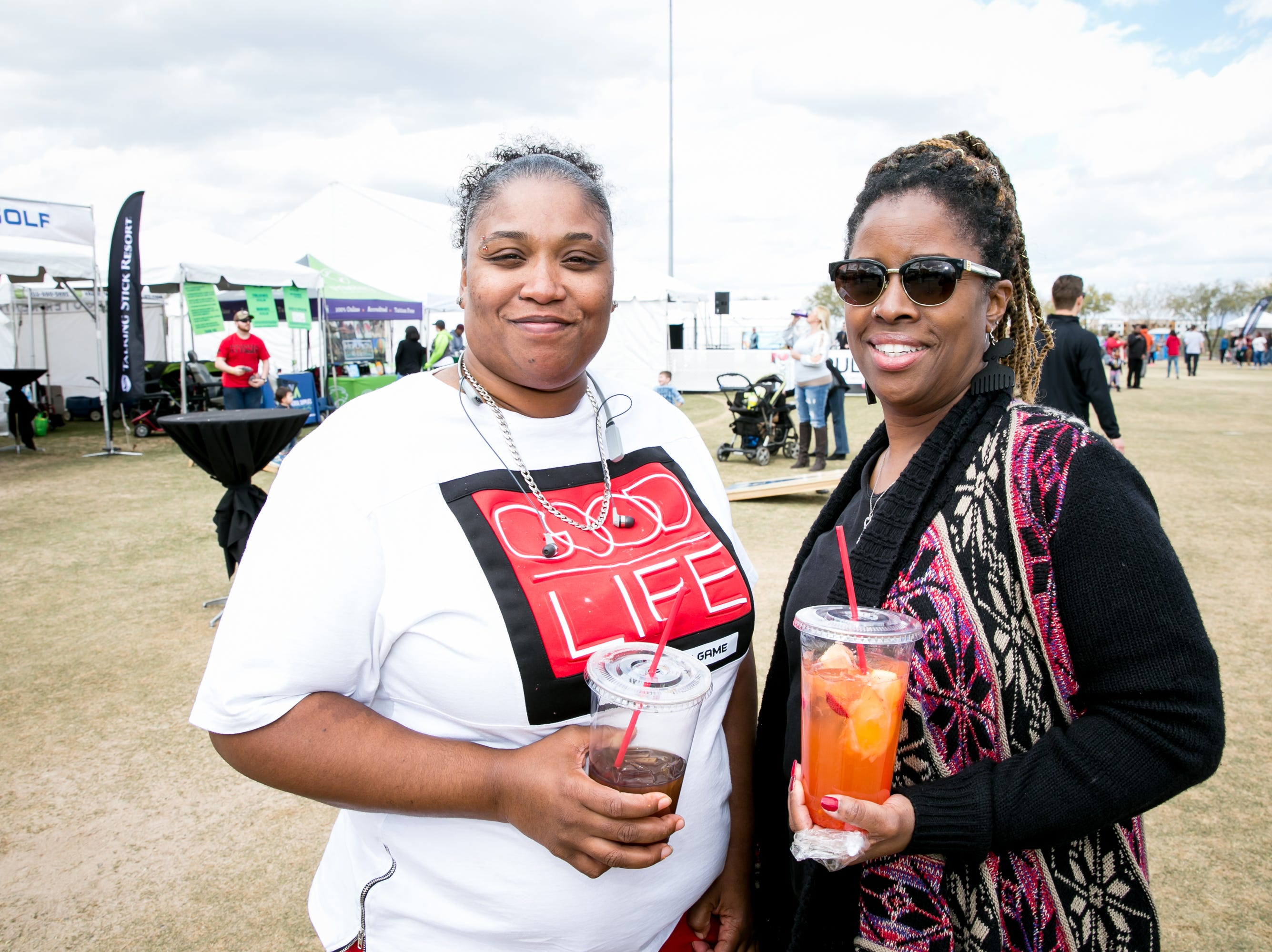 Great times were had during the Street Eats Food Truck Festival at Salt River Fields near Scottsdale on Feb. 17, 2019.