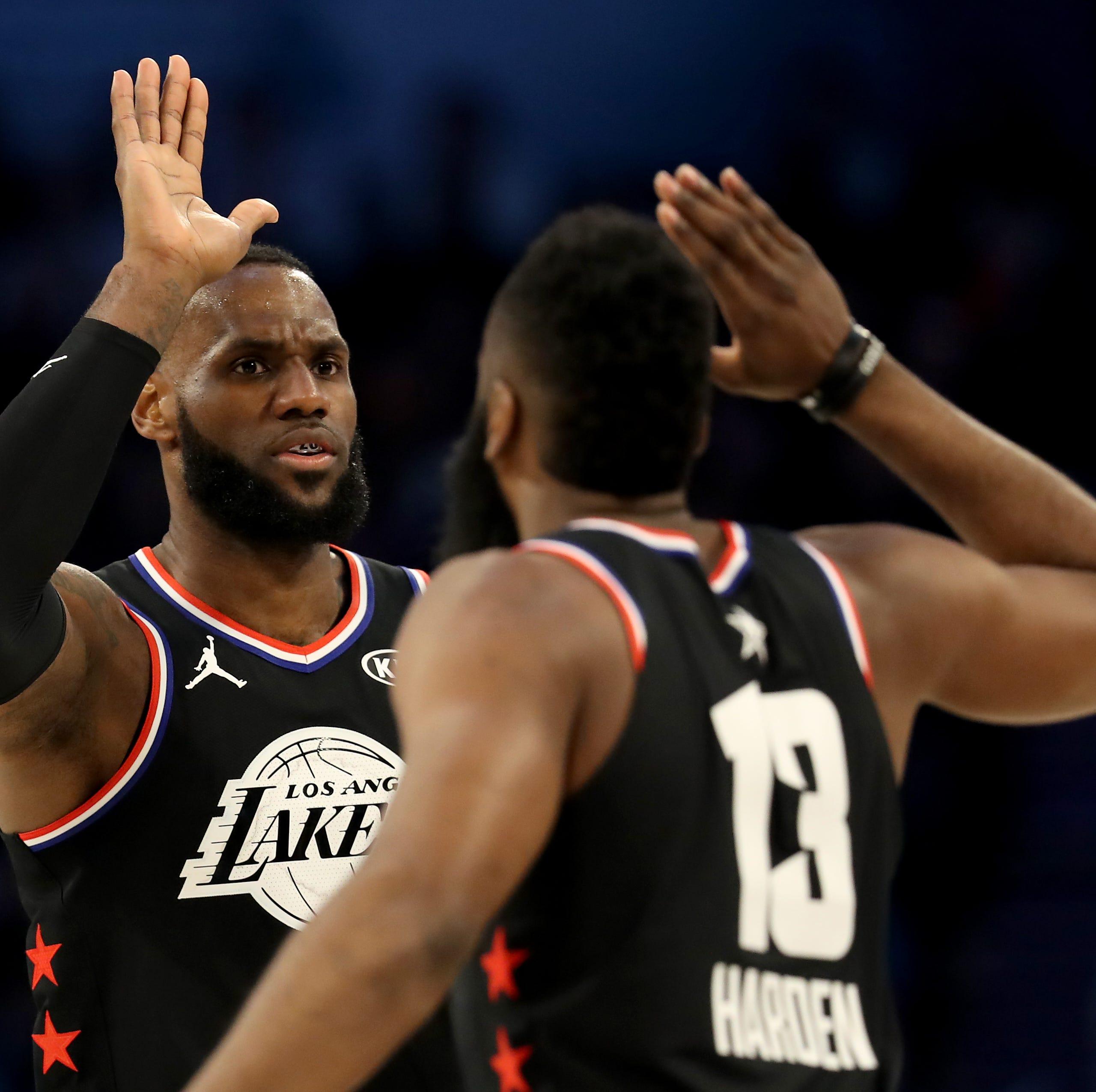Equipo LeBron se lleva la victoria en el Juego de Estrellas