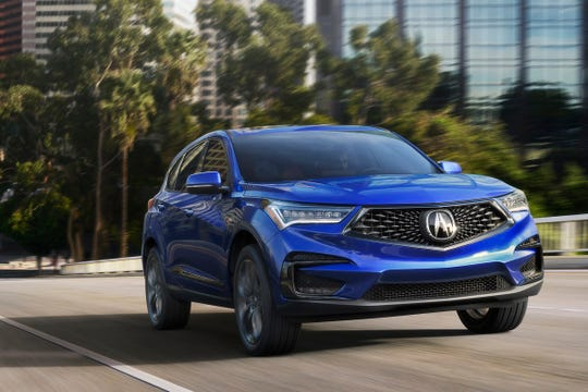 The third-generation Acura RDX earns a TSP+ Safety Award from IIHS for 2019