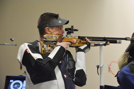 Matthew Rawlings led the 60 Shot rifle match and is still the reigning champion of the Camp Perry Open Super Final.