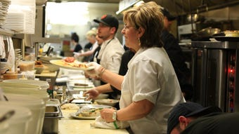 """""""A Fine Line,"""" premiering March 1 at the CIA, turns the spotlight on female chefs and the challenges they face in a male-dominated environment."""