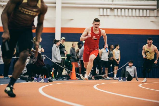Josh Booth has had an immediate impact as a Shippensburg freshman.