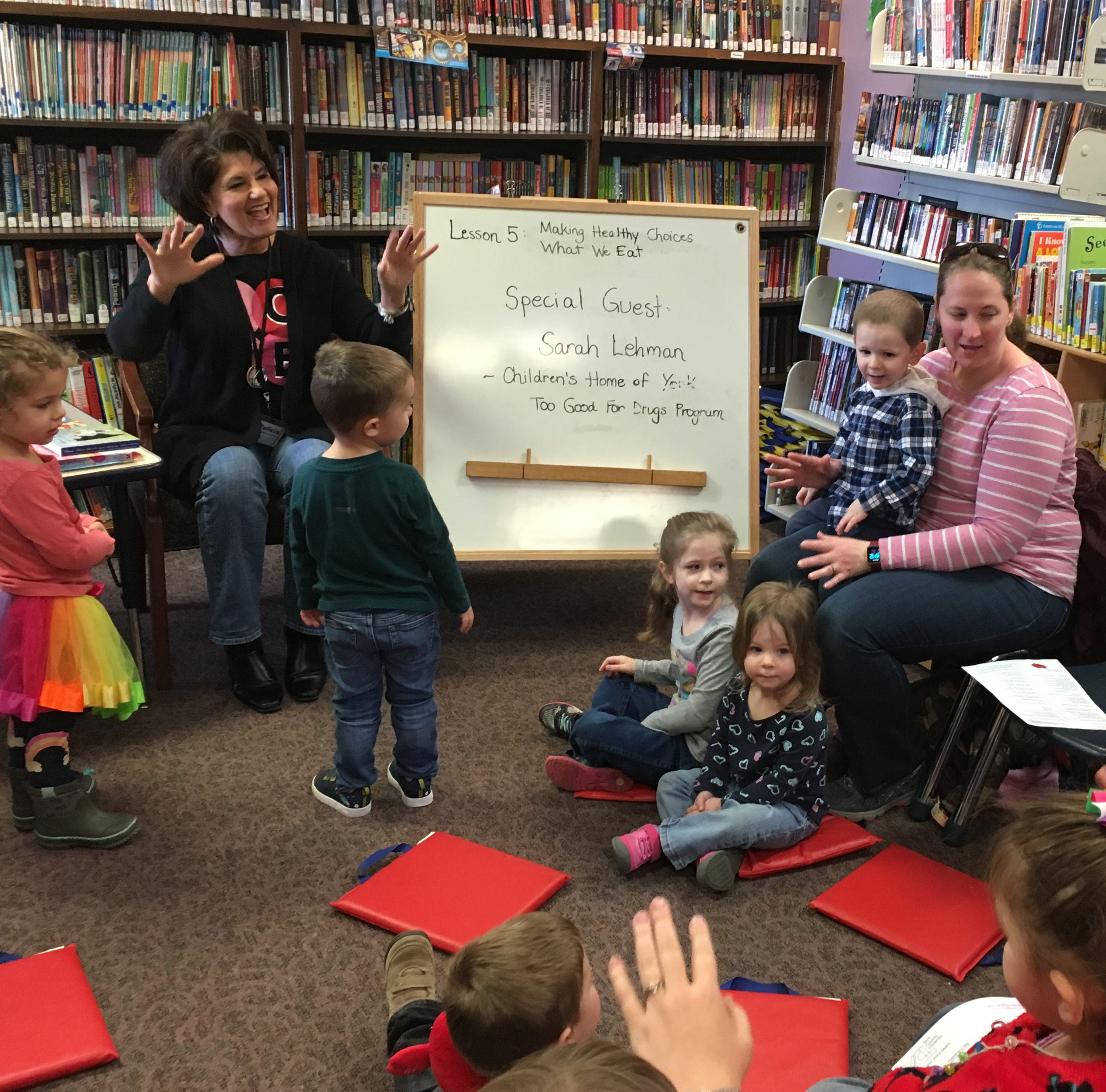 Kreutz Creek Library at 40: Small building, big heart