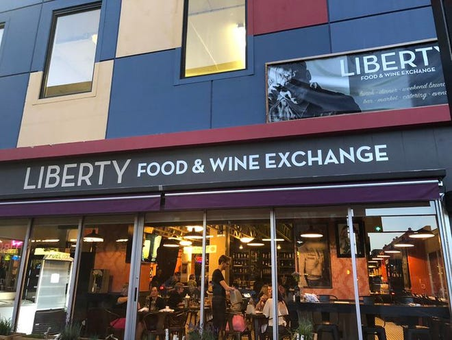 Beginning April 20, 2020, the newly formed Nevada Hospitality Industry Partnerships will be offering free meals three times a week to laid off or furloughed hospitality workers from the alley entrance of Liberty Food & Wine Exchange in downtown Reno, seen here in this February 2019 image.