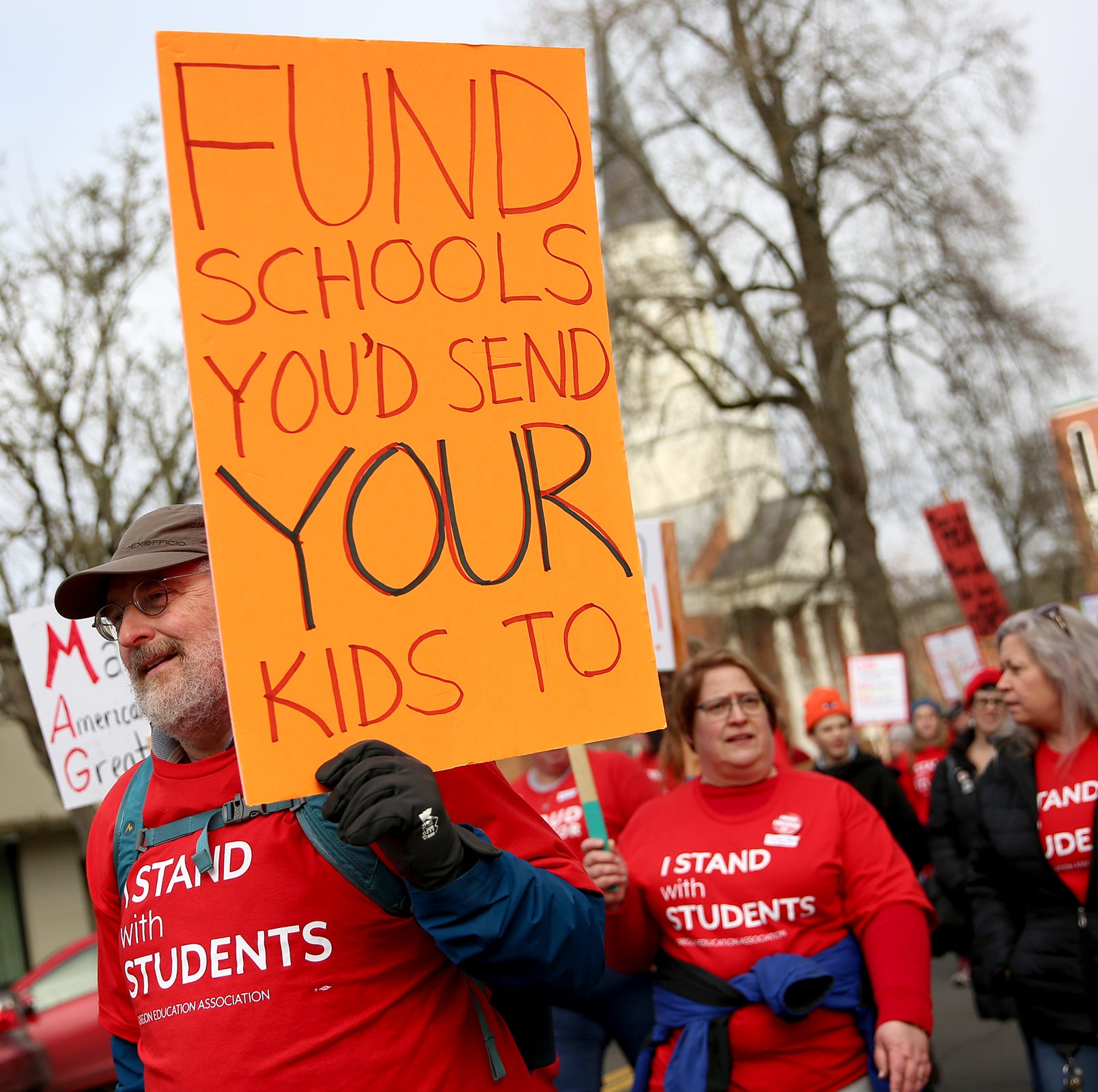 Salem-Keizer schools closing early on day of expected statewide teacher walkout