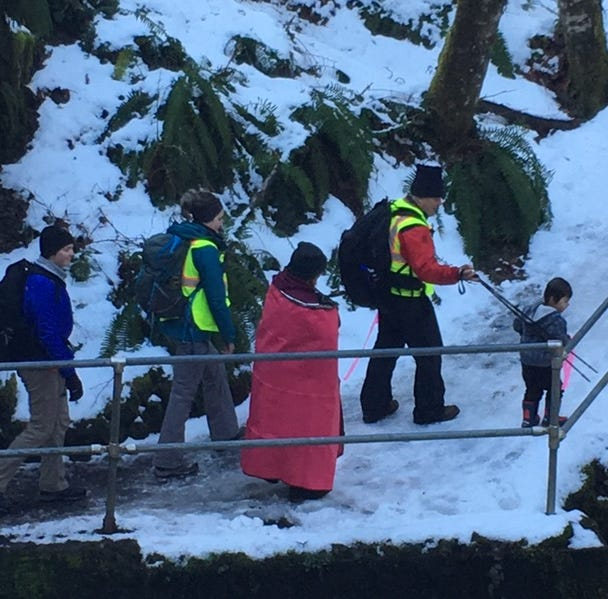 Missing Salem woman and child rescued after cold night at Silver Falls State Park