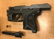William Paskey was charged with possessing a firearm while intoxicated.