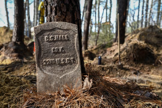 Archaeologists uncovered what appears to be an unmarked grave site in unincorporated Frankford, DE over the days leading up to Monday, Feb. 18, 2019.