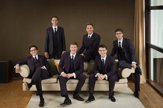 The King's Singers will perform at 7:30 p.m. Feb. 19 at First United Methodist Church in Shreveport.