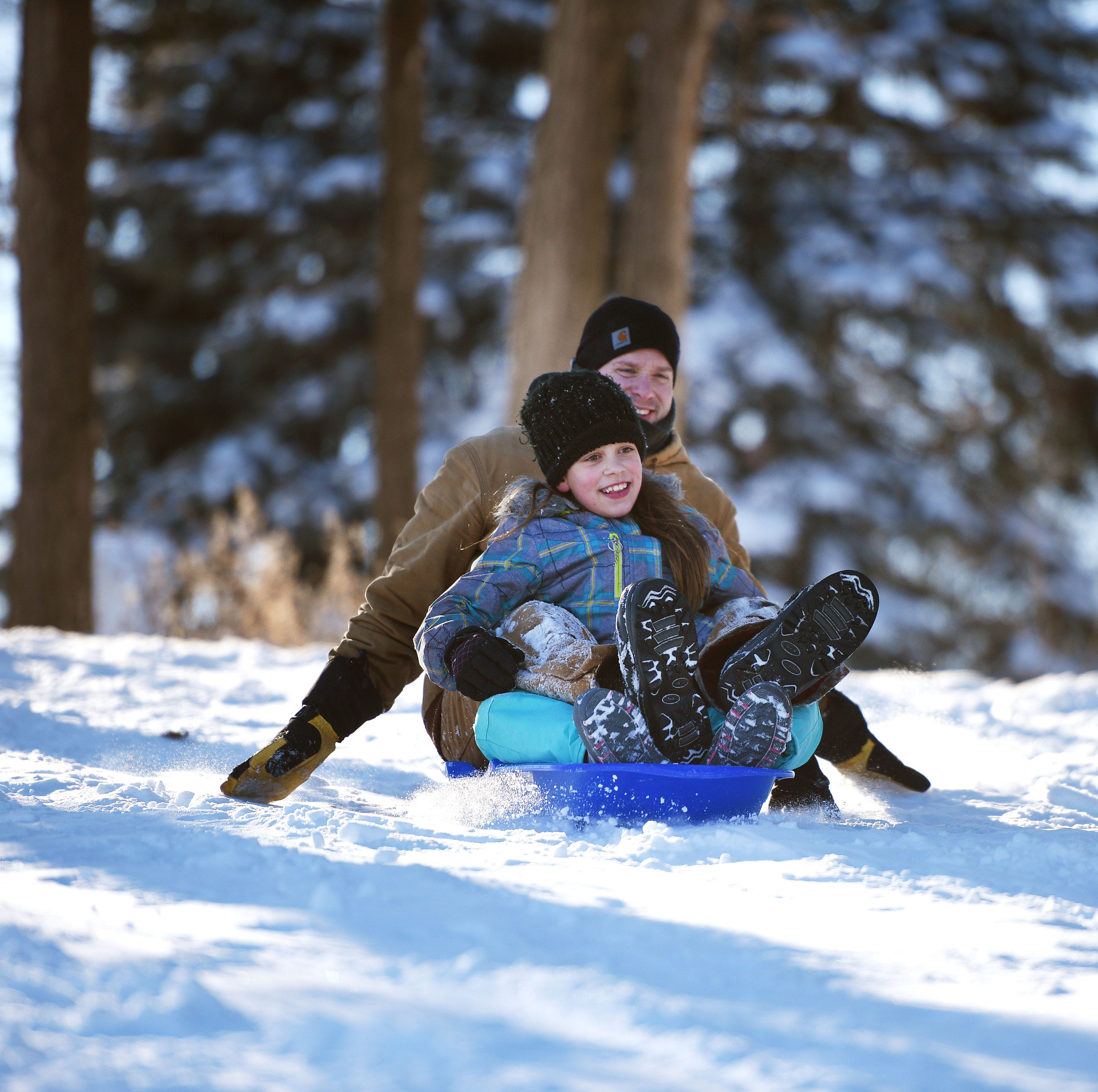 What are the best sledding destinations in Sioux Falls? Here's what readers suggested.
