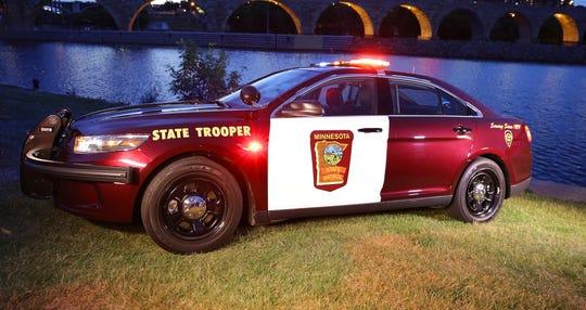 A Minnesota State Trooper's vehicle.