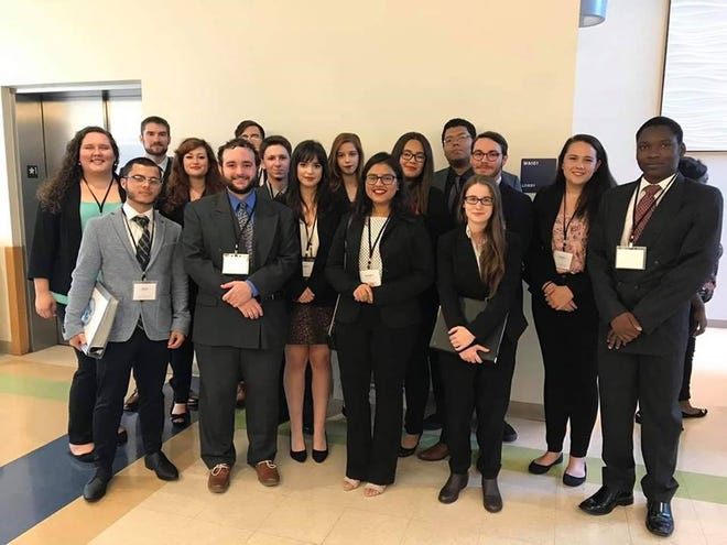 The TCC Model United Nations Team recently partipated in a conference for students.