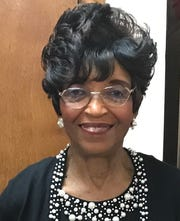 Gladys Lang, member of the Leon County Charmettes