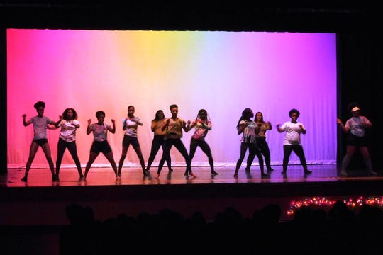 """Godby's production called """"The Power of the Black Artist"""" is a collaboration between the school's band, dance, chorus, and drama programs."""