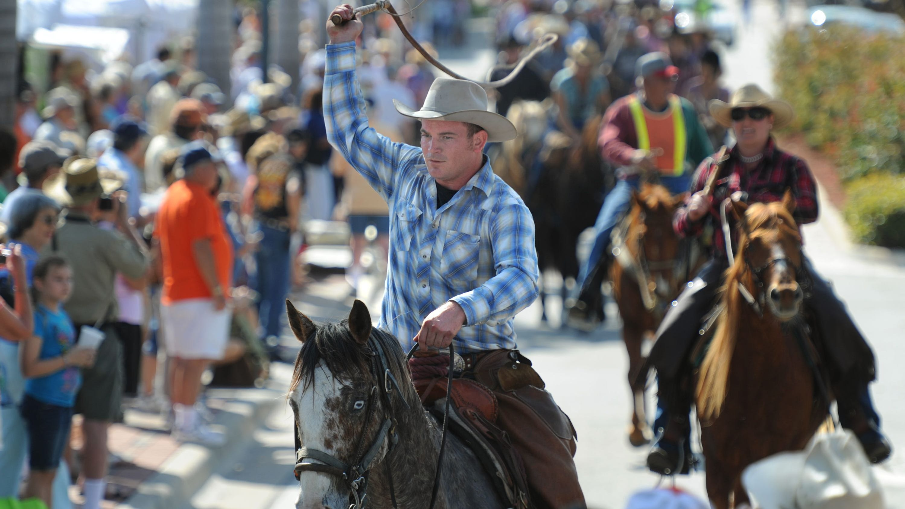 The 32nd annual Florida Cracker Trail Ride across...