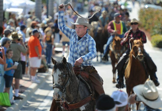 The 32nd annual Florida Cracker Trail Ride across the state ends with a parade Saturday morning through downtown Fort Pierce. The horseback ride began in Bradenton to honor the history of cattle pioneers.