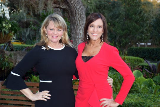 Dancing With Vero's Stars Co-Chairs Lisa Thompson Barnes, left, and Karen Franke are past Mirror Ball trophy winners.