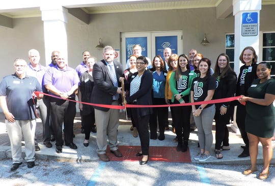 A ribbon-cutting ceremony organized by the Stuart/Martin County Chamber of Commerce was held at the Port Salerno Club recently as akickoff and public announcement of the new initiative between Boys & Girls Clubs of Martin County and Big Brothers Big Sisters of Palm Beach & Martin Counties.