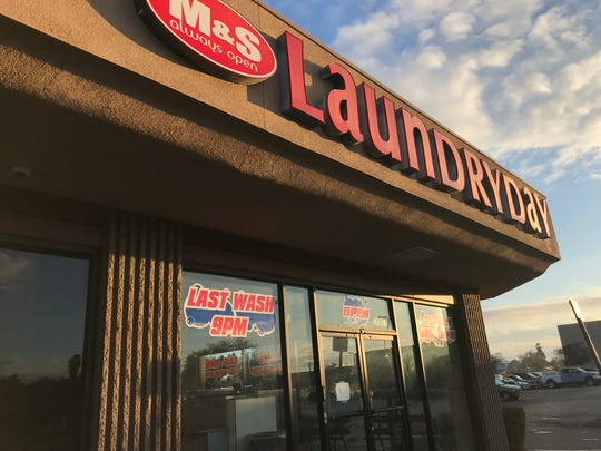 Around 5 p.m. on Saturday, firefighters were called to M & S Laundry Day at 1542 N. Ben Maddox Way for reports of a fire.