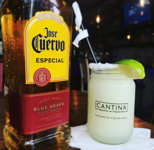 Margaritas are a specialty at Cantina Taco & Tequila, opening soon in White Plains.