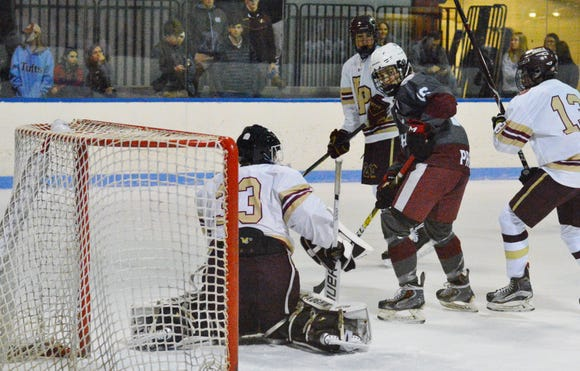 Fordham Prep forward Daniel Heslin was a headliner for the Rams during a playoff series win over Chaminade.