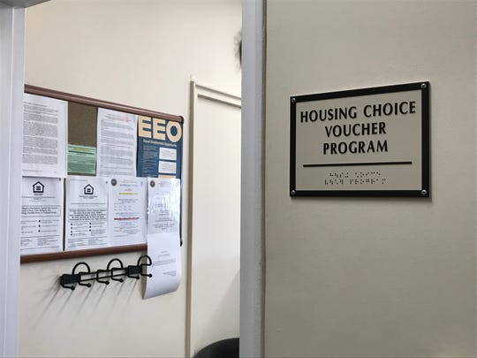 The office of Housing Choice Voucher Program at Eastchester Town Hall.