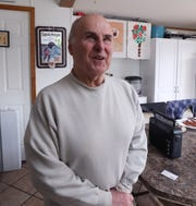 Steve Possell in his home at the Ba-Mar manufactured home community in Stony Point Feb. 18, 2019.