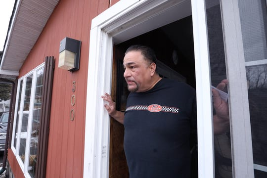 Orlando Martinez in his home at the Ba-Mar manufactured home community in Stony Point Feb. 18, 2019.