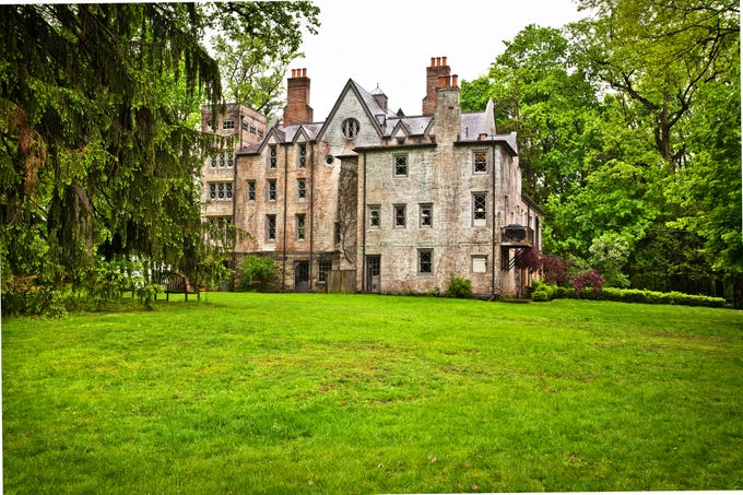 This house, part of an estate at 1070 Route 9D in Garrison N.Y. was built in 1867 for Edwards and Margaretta Pierrepont. It's known as Hurst- Pierrepont Estate.