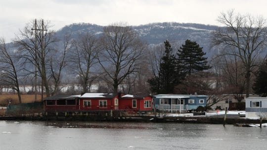 Houses at the Ba-Mar manufactured home community in Stony Point Feb. 18, 2019.