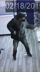 Dover police say this man stole four phones from a Metro PCS store Sunday.