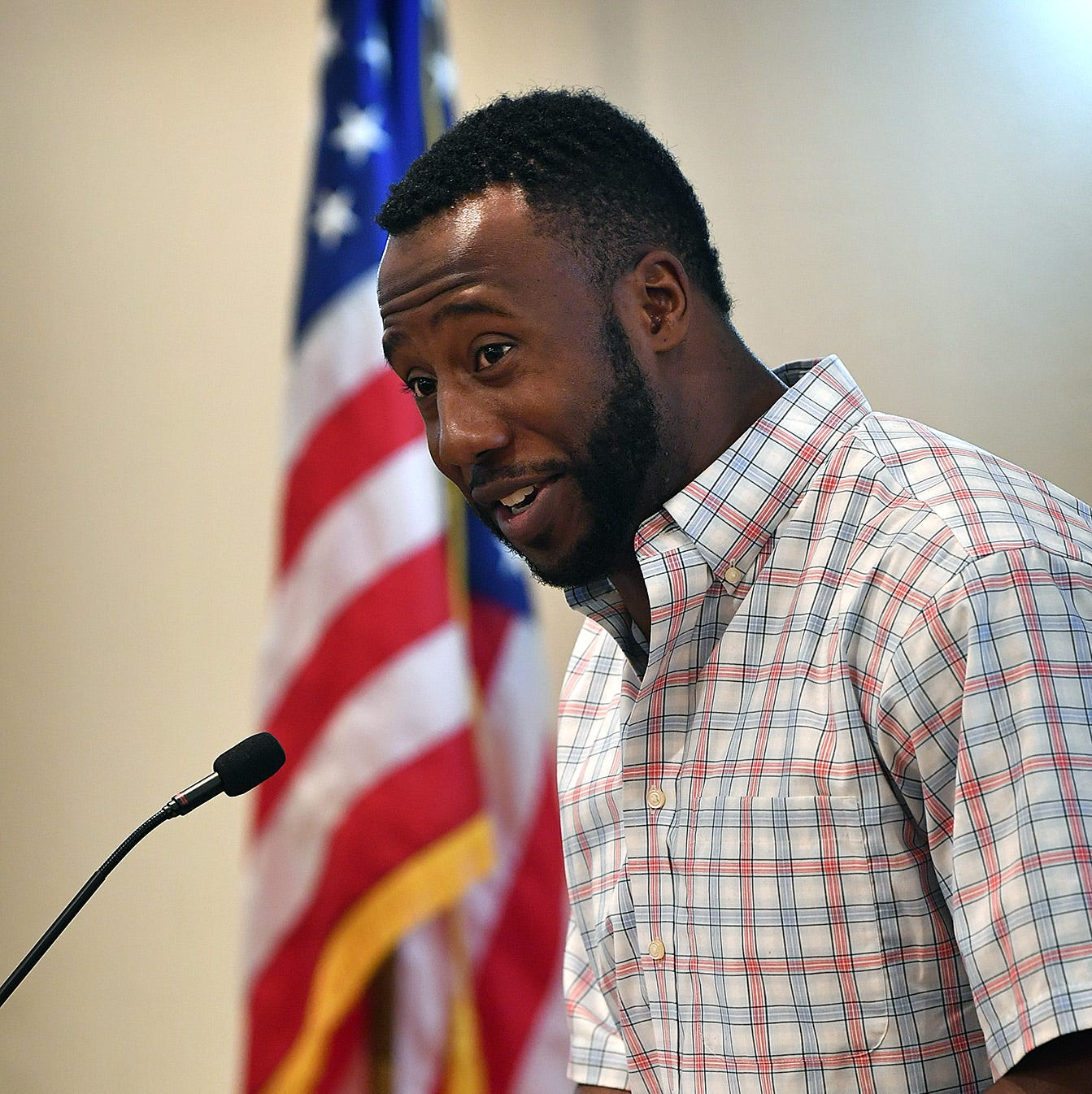Markelle Martin talks education at Republican group meeting