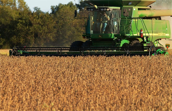 Deere, a manufacturer that faces threats on both ends of a trade war, cited rising costs and anxious farmers, in reporting a profit shortfall for the first quarter last week.