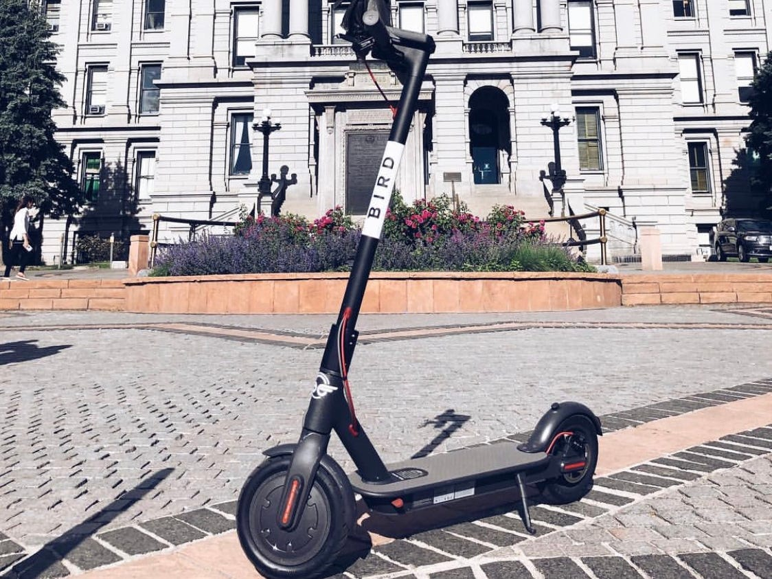 Denver offers plenty of scooter choices, providing another option for visitors to make their way to the booming city's food halls, museums and parks.