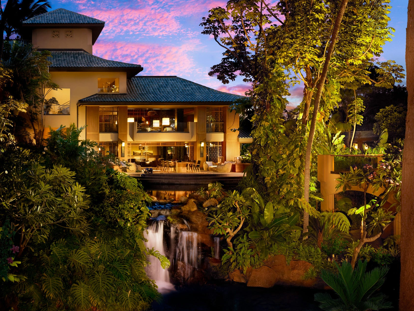 The Four Seasons Resort Lanai in Hawaii.