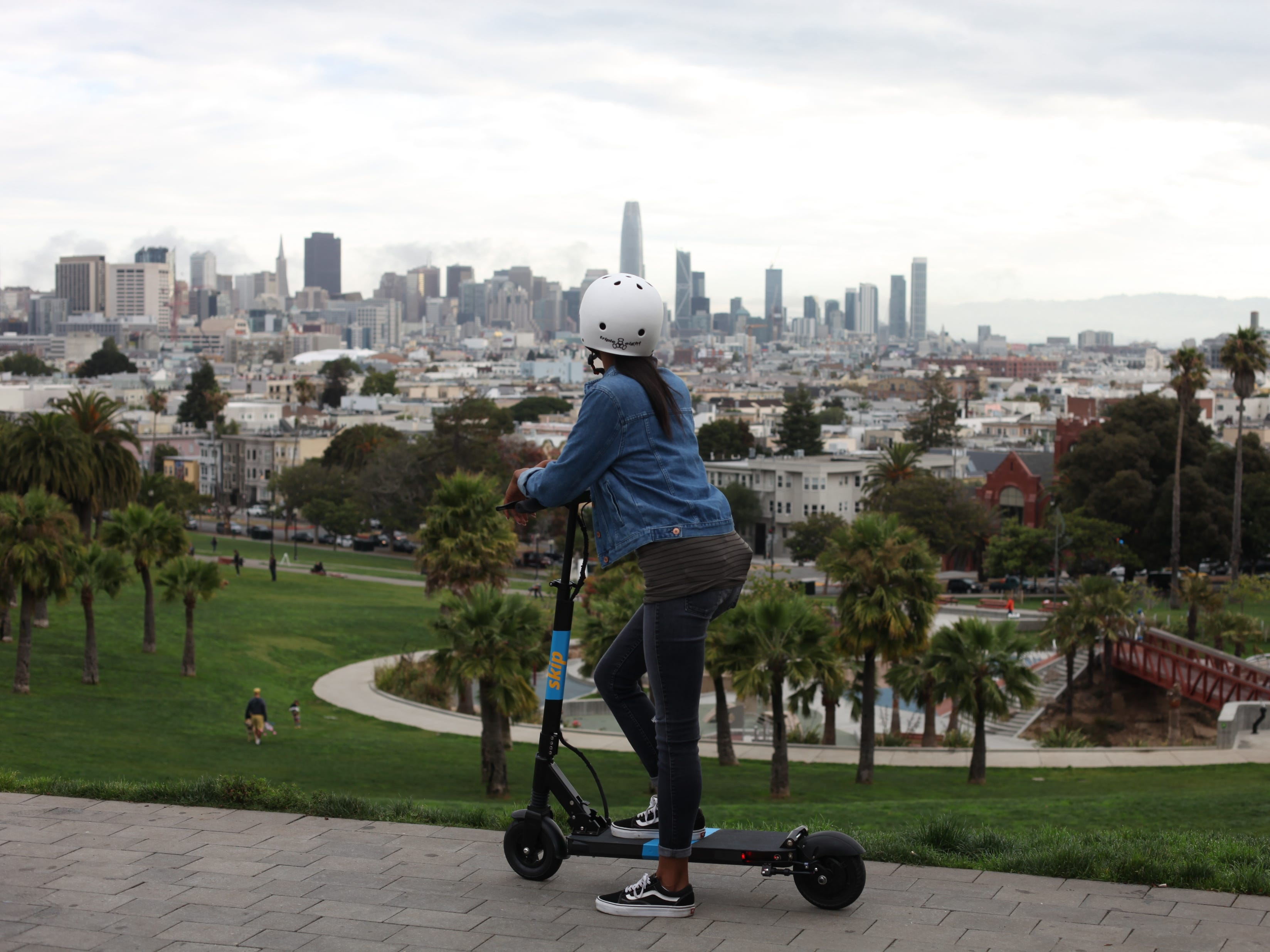 While cable cars remain San Francisco's transportation icon, scooters have proven popular with residents and visitors.