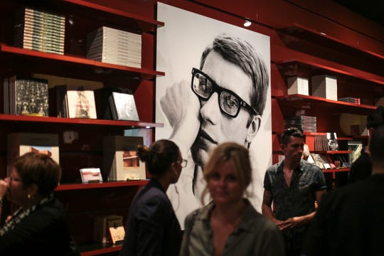 The book store at the Yves Saint Laurent museum, in Marrakesh, Morocco, in October 2017, when it opened.