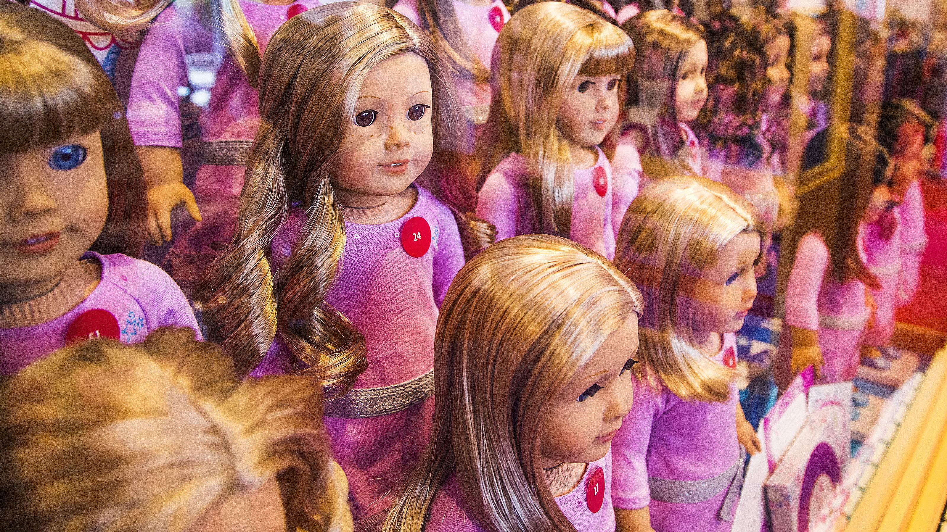 American Girl dolls spark live-action movie. MGM and Mattel partner for 'passionate' fans