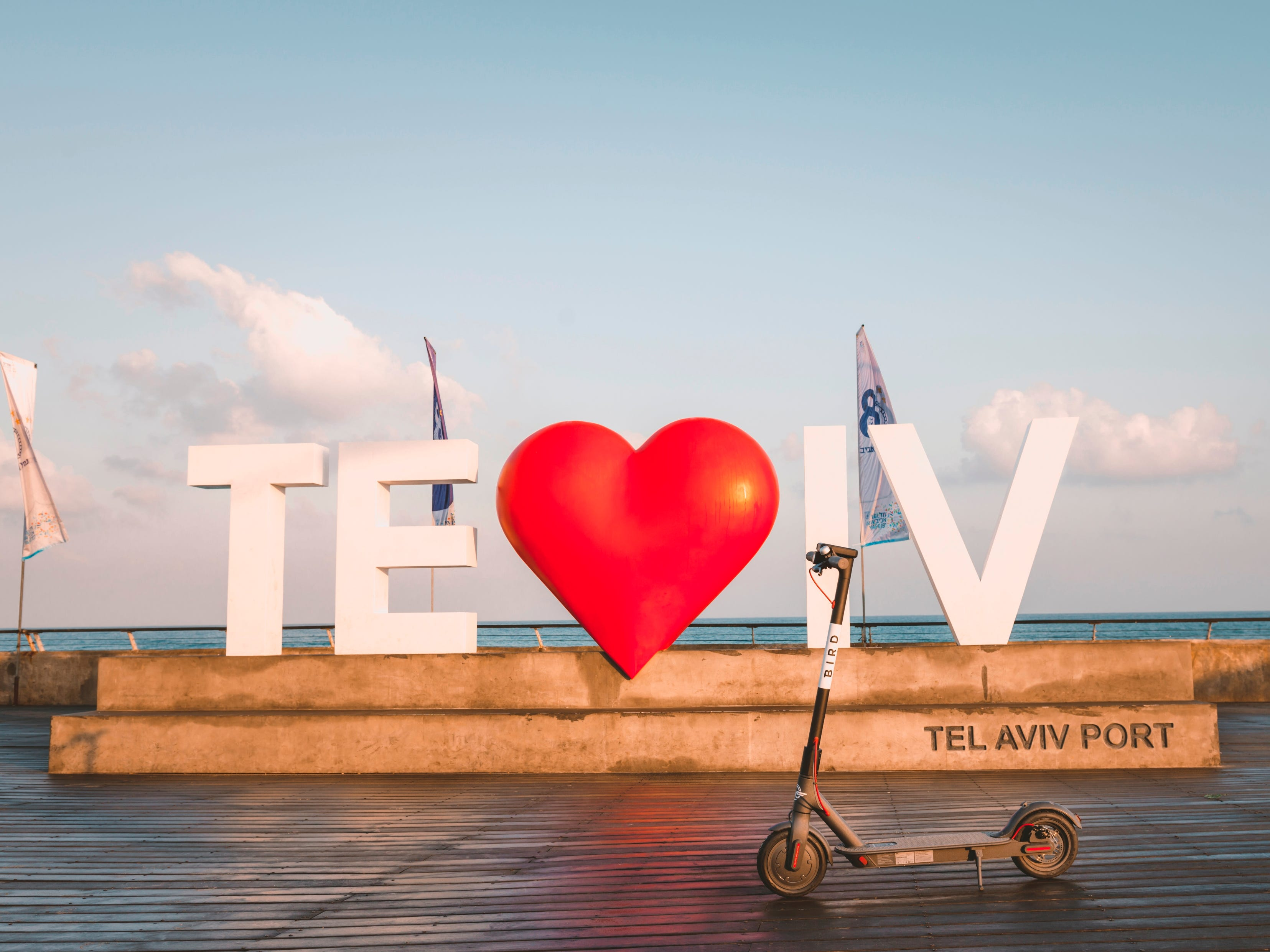 Scooters have taken off in traffic-choked and tech-focused Tel Aviv, Israel, where the vehicles are often used for outings to the city's Mediterranean beaches.