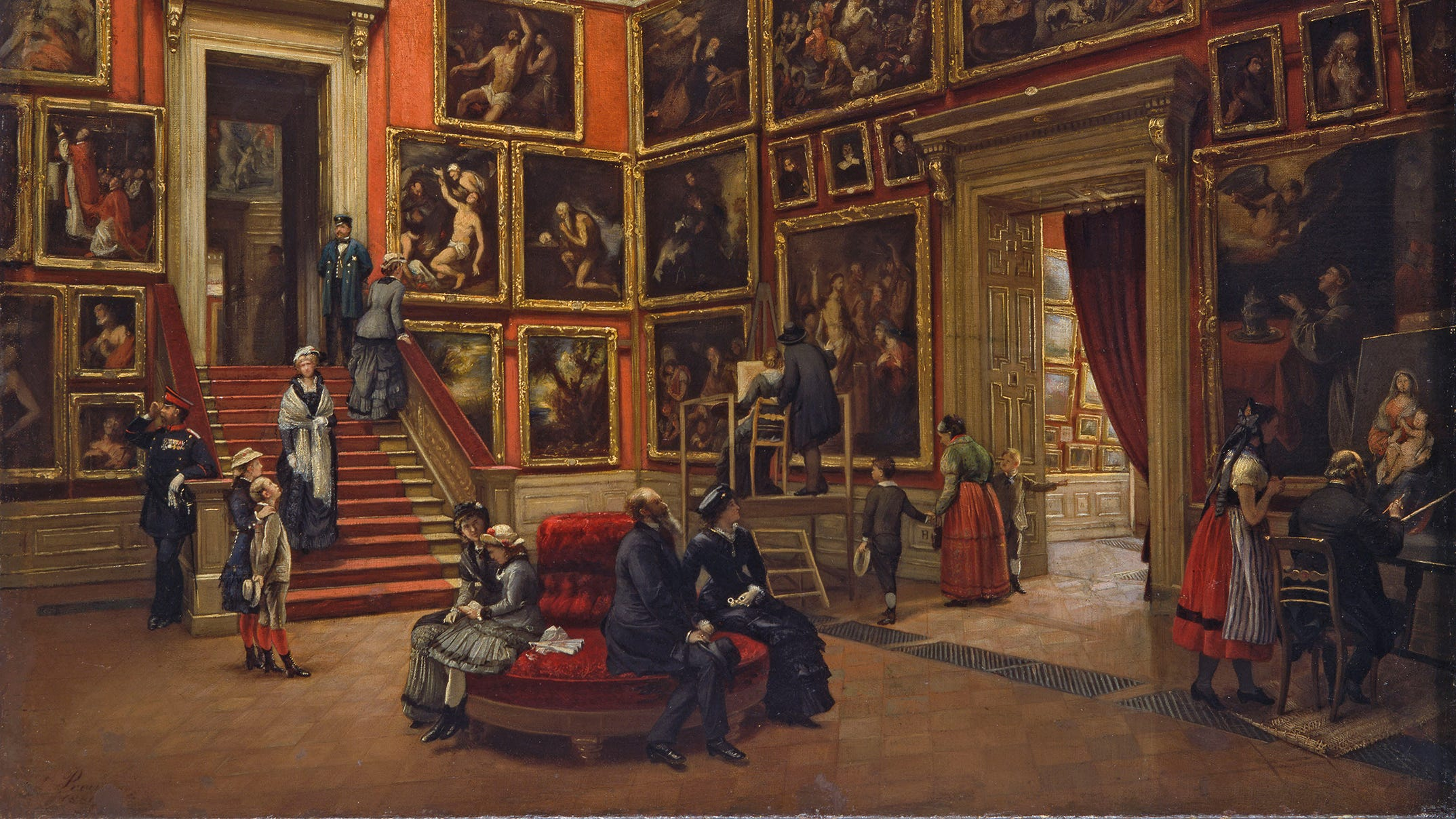 It's been 200 years since Spain's Prado Museum opened, and a new exhibit explores its history and influence.