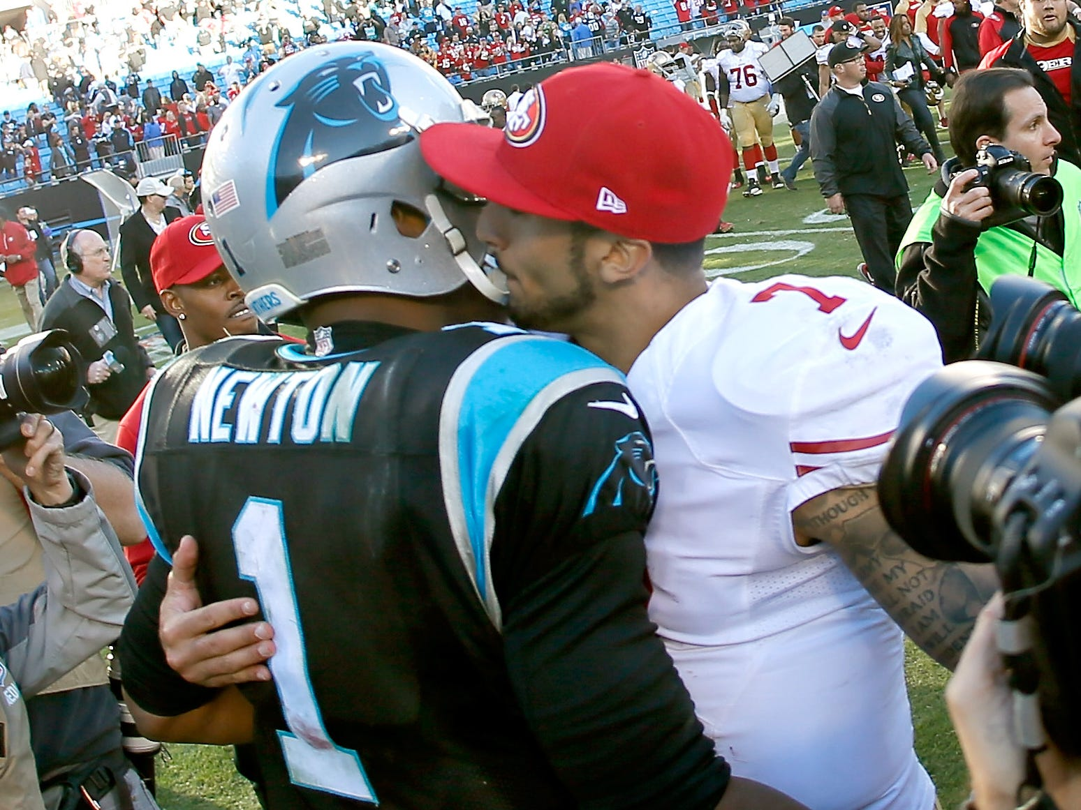 Are Panthers, Patriots good fits for Colin Kaepernick? Is another NFL team?