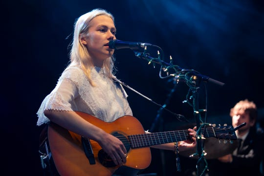 Phoebe Bridgers performs at Greenman Festival on Aug. 18, 2018 in Brecon, Wales.