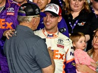 Joe Gibbs calls Denny Hamlin's Daytona 500 victory his 'most emotional' and 'biggest win'
