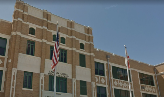 A Lakeland student was arrested following an incident which began when he declined to recite the Pledge of Allegiance.