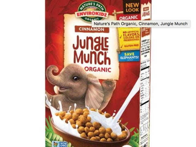 Some Nature's Path gluten-free cereal recalled for possible